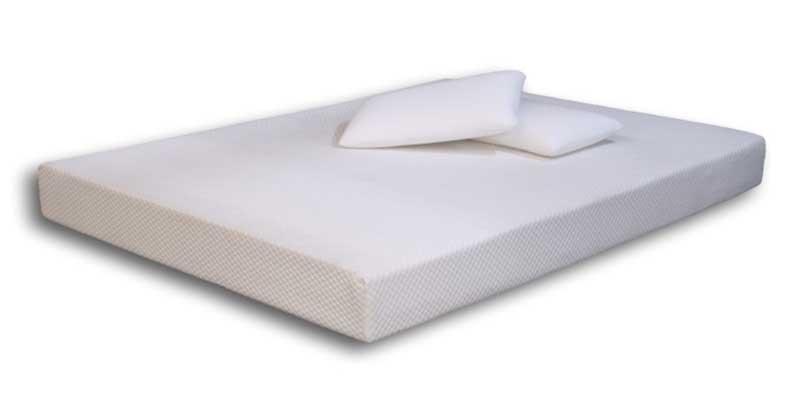 White low risk mattress